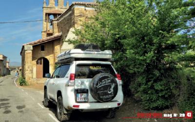 Elegidos como alojamiento y punto de partida de rutas en 4×4 por una agencia francesa